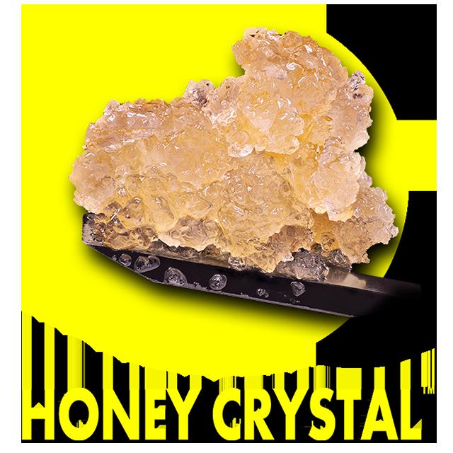 honey crystal